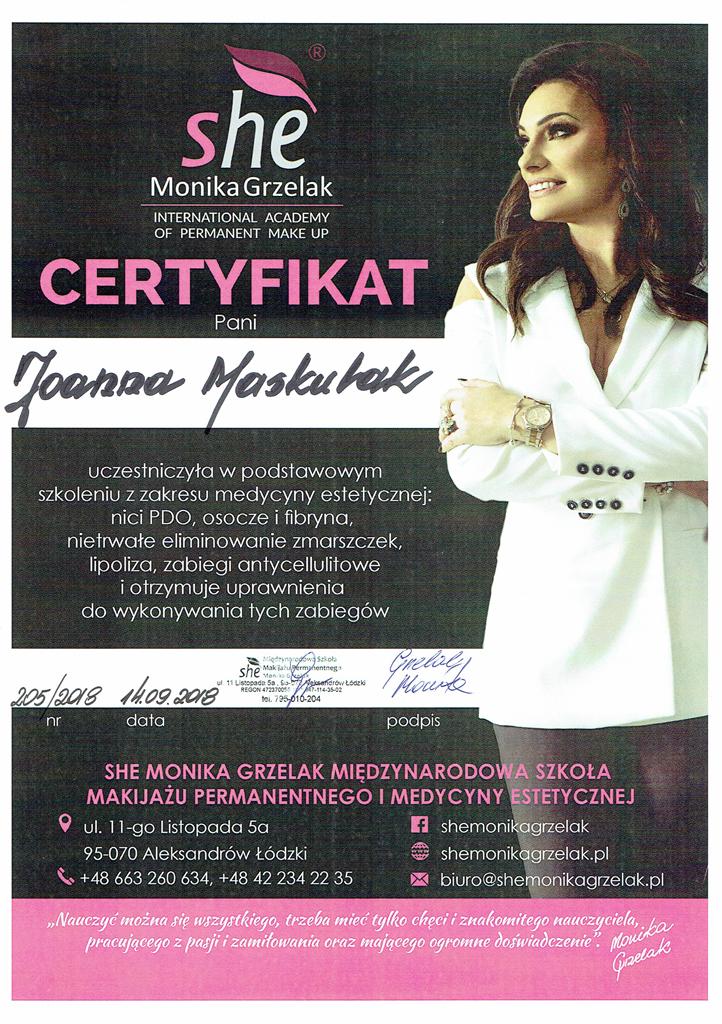 kwalifikacje-medycyna-estetyczna-kreska-gorna-uroda-plus-joanna-maskulak-salon-kosmetyczny-pabianice